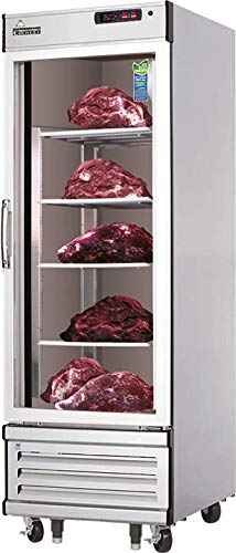 Lowest Price! Stainless Steel Reach in Single-Door Commercial Beef Aging Cooler