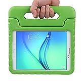 LEADSTAR Kinds Funda para Samsung Galaxy Tab A 9.7 caso niños EVA destinado a prueba de golpes cubierta estuche protector caso para Samsung Tab A SM-T550 P550 9.7 Pulgadas - Verde