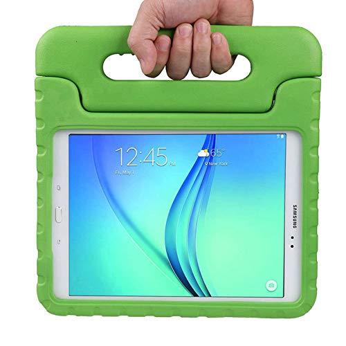 LEADSTAR Custodia Bambini per Samsung Tab A 9.7 Case - Custodia Protettiva Antiurto con Supporto per Samsung Galaxy Tab A 9.7 SM-T550 SM-P550 Tablet (Verde)