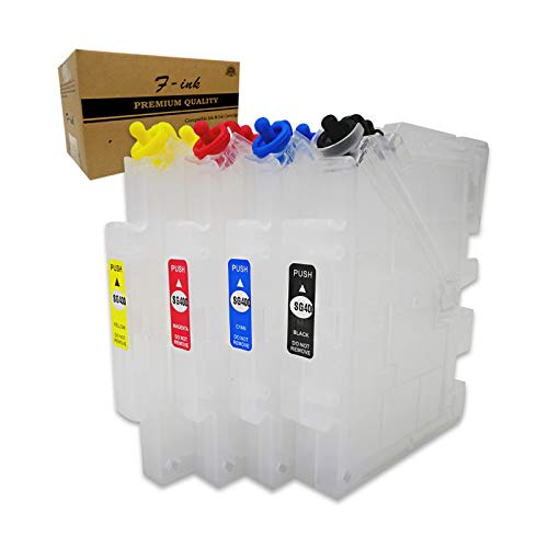F-INK Empty Refillable Ink Cartridge Compatible for Sublijet Sawgrass Virtuoso SG400 and SG800 Printer