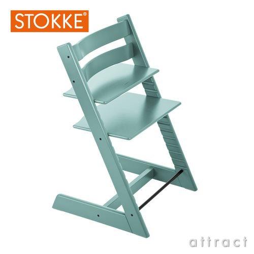 STOKKE ストッケ Tripp Trapp トリップトラップ 本体(ベビーチェア)カラー:全10色  デザイナー:ピーター・オプスヴィック (アクアブルー)