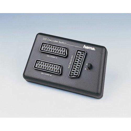 Hama Video-Umschaltbox SAT-Decoder