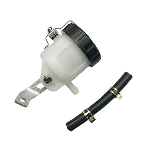 Motorcycle Front Brake Master Cylinder Brake Pump Tank Oil Cup Fluid Bottle Reservoir w/Bracket Aftermarket Part For GSX-R 600 GSX-R 750 GSX-R 1000 2006-2011 2012 2013 2014 2015 2016 2017