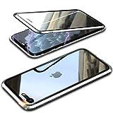 Funda Compatible iPhone 7/8/SE 2020, Carcasa Anti-Choques y Anti- Arañazos, Adsorción Magnética conchoques de Metal...