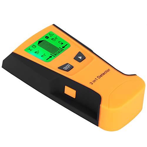 AMONIDA 【Venta del día de la Madre】 Escáner de Pared, Detector de Pernos de Material ABS portátil de fácil Uso, para Mueble de baño con TV(Orange)