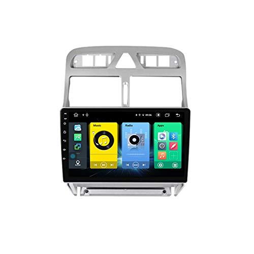 TypeBuilt Android Car Stereo Radio De Coche 9 Pulgadas Unidad Principal Reproductor Multimedia Receptor De Video Carplay para Peugeot 307 2008 2002-2013 Autoradio Mit Navi,C300