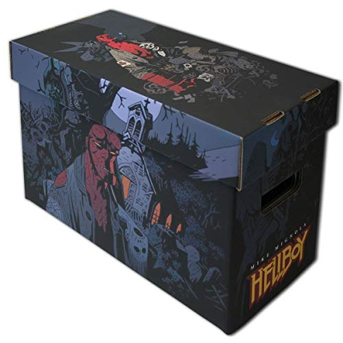 Art Short Box BCW Hellboy Art Short Comic Box by