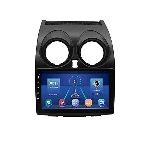 FFKL VIIPOO Android Coche Estéreo 9 Pulgadas Android HD Pantalla Táctil Unidad Cabeza con Enchufe Juego para Nissan Qashqai 06-13 Accesorios Automóvil Control Volante Navegación GPS,8 Core 4G 2+32G