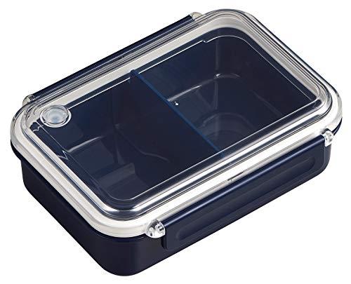 OSK 弁当箱 まるごと 冷凍弁当 ネイビー 500ml タイトボックス レシピ付 (日本製) PCL-1SR