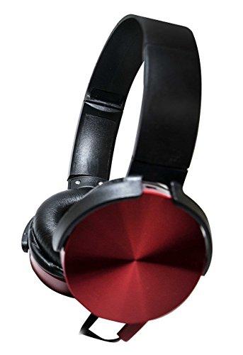 Fone de Ouvido Extra Bass Gamer Vermelho