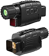 """JStoon Night Vision Monocular Infrared Night Vision Scope Digital Monocular with 1.5"""" TFT LCD Take Photo/Video Recording/Playback Function for Outdoor/Surveillance/Camping/Hiking/Bird Watching"""