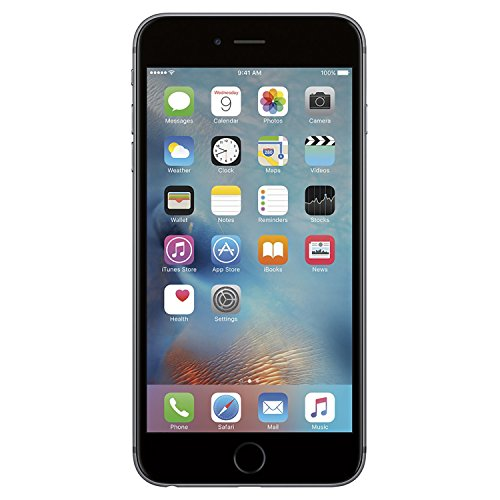 Apple iPhone 6S Plus, 32GB, Space Gray - for AT&T/T-Mobile (Renewed)