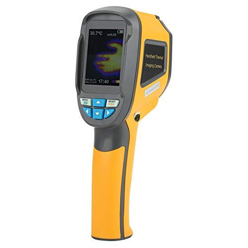 Wärmebildkamera Infrarot, HT-02 Handheld IR Wärmebildkamera Farbdisplay 60 * 60 Auflösung Wärmebildkamera