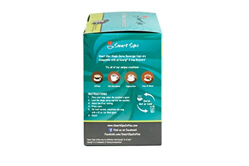 Smart Sips, Chocolate Orange Coffee, 24 Count, Compatible With All Keurig K-cup Brewers