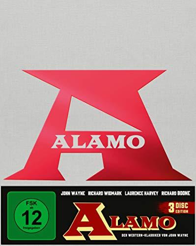 Produktbild von Alamo (Mediabook A, 2 Blu-rays+DVD)(exklusiv bei Amazon.de) [Limited Collector's Edition]
