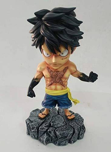 NoNo High 15CM One Piece Gangster Tattoo Ruffy Boxed Skulptur Geschenk Modell Artwork Anime