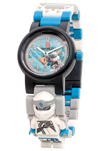 Lego Unisex-Kinder Analog Quarz Uhr mit Plastik Armband 8021735