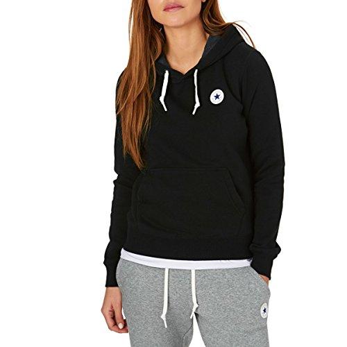 Converse Sweater Damen CORE Hoodie 10004543 Schwarz 001, Größe:XL