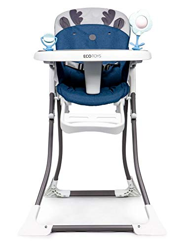 Kinderhochstuhl,Hochstuhl, Esszimmerstuhl Kindersitz, Kleinkind Booster Seat, Babynahrungsstuhl mit Tablett (HC301-904)