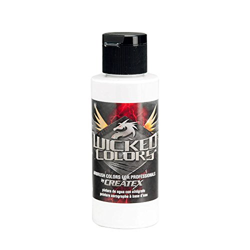 Createx Wicked Colors - Airbrush Farbe - 473 ml - Weiss