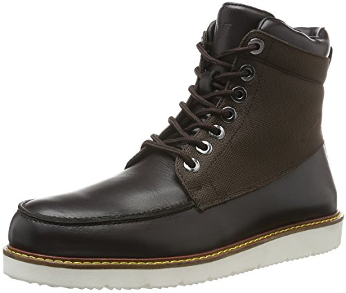Armani Jeans Herren 9350526A452 Kurzschaft Stiefel, Braun (Brown After Dark 04552), 45 EU