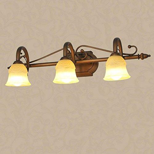 FTFTO Equipo de Vida Lámpara de Cabeza de Espejo Lámpara de Pared Lámpara de Cabeza de tocador de Espejo Lámpara de Mesa de tocador Adornos