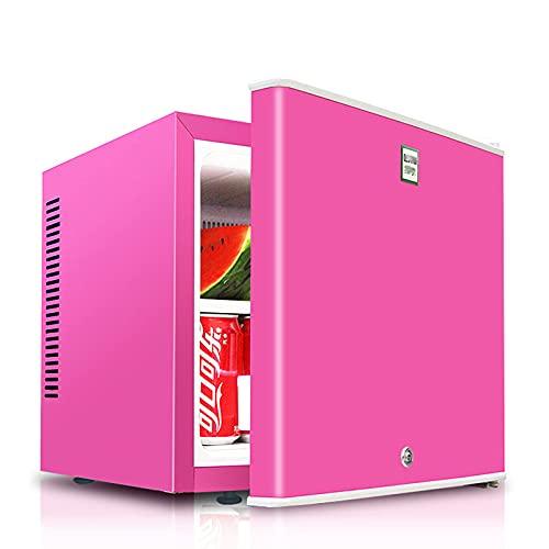 BD.Y Mini Nevera portátil de 20 litros con sobremesa, Mini congelador para Dormitorio y Espacio de Oficina pequeño, Soda, Cerveza o Vino, Rosa