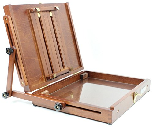 Sienna Plein Air Artist Pochade Box Easel Large (CT-PB-1012)