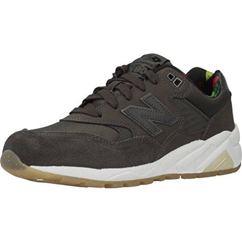 New Balance 580 Schuhe Damen Sneaker Turnschuhe Grau mit Revlite-Zwischensohle, Größenauswahl:40