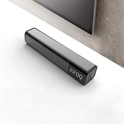 Soundbar20W Soundbar Altavoz Bluetooth inalámbrico portátil de alta fidelidad calidad de sonido doble despertador independiente unidad de sonido sistema de cine en casa