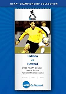 1988 NCAA r Division I Men's Soccer National Championship - Indiana vs. Howard