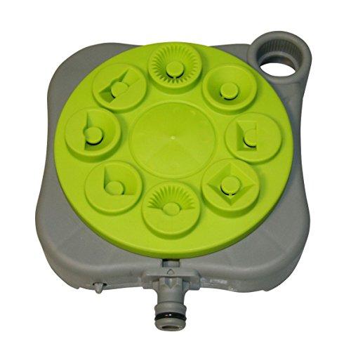 Xclou Griffe piocheuse de jardin jaune et noire - Cultivateur de jardin avec manche ergonomique - Petite griffe à fleurs 3 dents - Outil de jardin multifonction