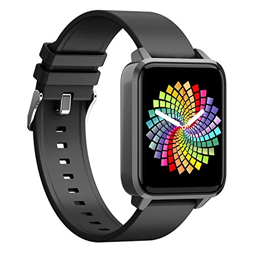 Smart Watchs Fitness Tracker, Pulsera Inteligente Hombres, Mujeres Y Niños, Pantalla Táctil 1,65 'resistente Al Agua IP67, Con Monitor Frecuencia Cardíaca Presión Arterial, Para Teléfonos Android IO