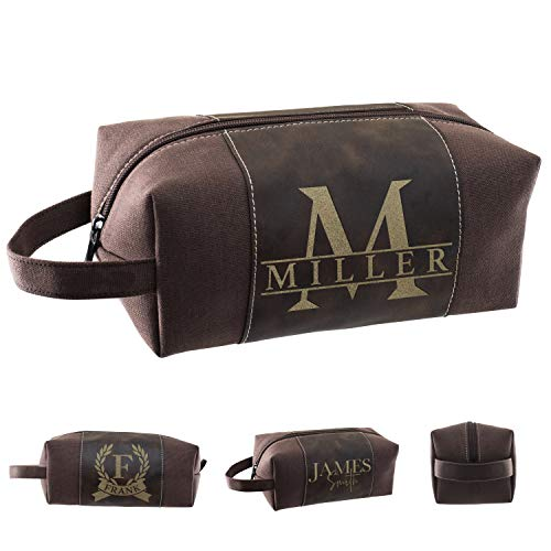 Personalized Toiletry Bag for Men   12 Different Designs   Dad Gifts,...