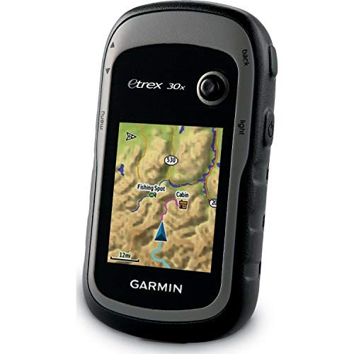 Garmin eTrex 30x, Handheld GPS Navigator with 3-axis Compass, Enhanced Memory and Resolution, 2.2-inch Color Display, Water Resistant (Renewed)