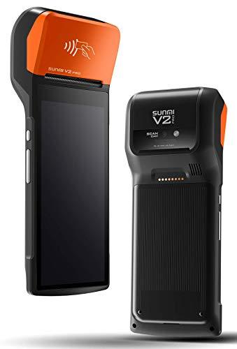 Sunmi V2 Pro - Mobiles Kassenterminal mit integriertem Thermodrucker, NFC und 4G