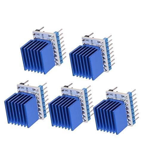 Conductor del motor de pasos del controlador Junta Módulo TMC2208 controlador de motor paso a paso de la impresora 3D CNC Máquinas