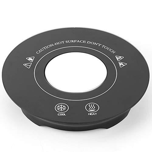 Estera de la Taza de la montaña Rusa de Calentamiento rápido portátil eléctrico USB Impermeable Inteligente para la Oficina Agua té Bebidas Leche Cerveza Cacao