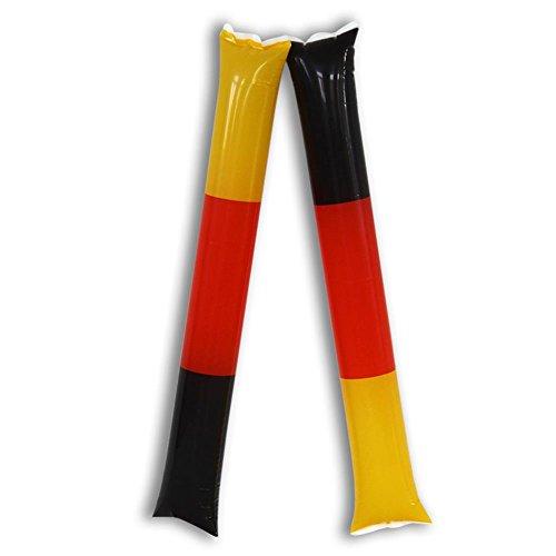 Diverse 20 x Lärmschläger Air Sticks 10 Paar 58 cm Deutschland WM EM Fußball Fanartikel