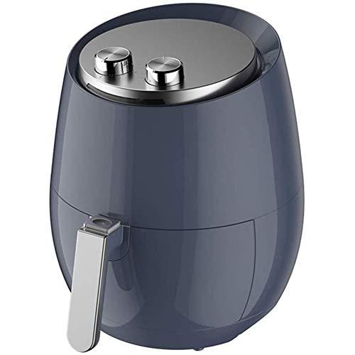 JGSDHIEU Elektrische friteuse voor het huishouden, zonder olie, frituurpan, volautomatisch, automatische uitschakeling, luchtfriteuse