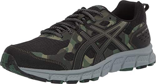 ASICS Men s Gel Scram 4 Running Shoes 12M Black Irvine product image