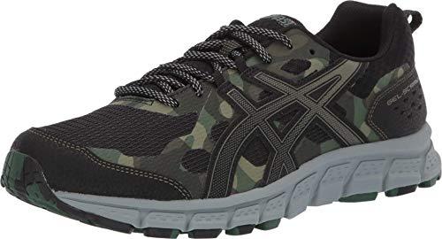ASICS Men's Gel-Scram 4 Running Shoes, 10.5M, Black/Irvine