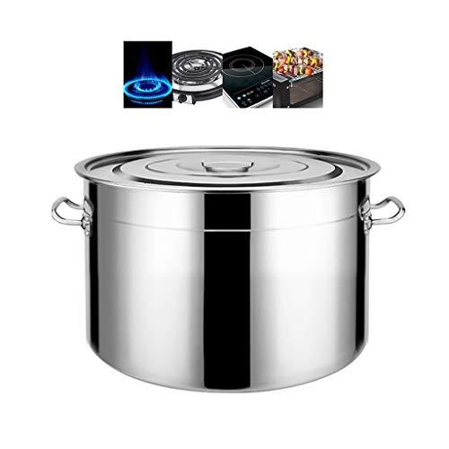 Kookpan Grote pan, groentepan, kluis roestvrij stalen pan met deksel, 30 cm, 6 maten
