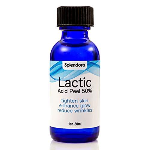Splendora peeling de ácido láctico 50% - exfoliación de la piel - piel seca, golpes de afeitar, la cicatrización, eczema y dermatitis, estrías, el daño solar