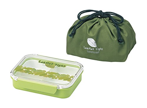 650ml Lunch Box Bento Box with a Green Bag / Made in Japan