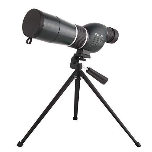 DQQ 15-45x60mm Telescopio Terrestre Recto HD Potente Militar Impermeable Zoom Potentes Visión Nocturna con Tripode para...