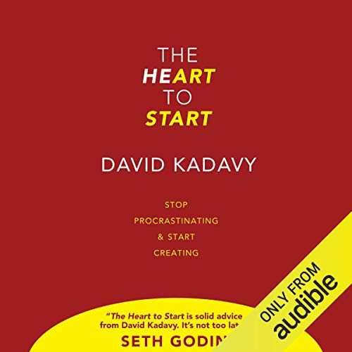 The Heart To Start audiobook cover art