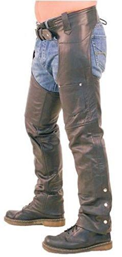 Leather Addicts Herren Jeanshose schwarz schwarz, schwarz, L_Chaps_BLK_32_30