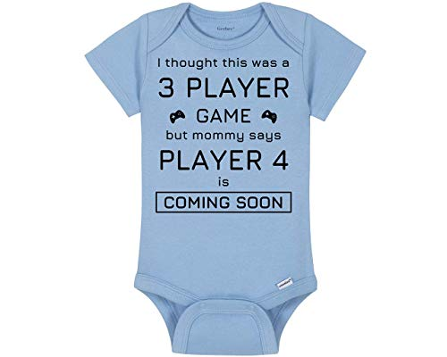 Gaming Baby Onesie® - I Thought This Was A 3 Player Game But Mommy Says Player...