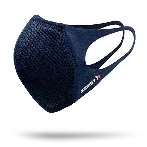 ザムスト(ZAMST) マウスカバー 2枚入りセット スポーツ用 ランニング 薄型 通気性 呼吸しやすい スポーツマスク ふつうサイズ 389402